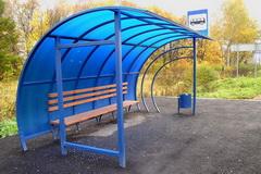 У жителей Глазова решили поинтересоваться, какими они хотят видеть автобусные остановки