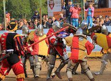 Глазовские рыцари стали победителями турнира «Битва на Вятке»