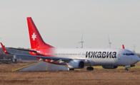 Первый Boeing 737-800 для авиакомпании «Ижавиа» перелетел из Голландии в Россию