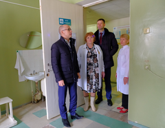 Александр Бречалов посетил Глазов с рабочим визитом