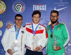 Стрелок из Глазова Андрей Чиликов стал победителем Первенства Европы по стрельбе
