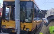 В Ижевске в ДТП с участием автобуса пострадали 9 человек