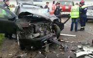 В Глазове произошло ДТП с участием трех автомобилей, пострадали три человека