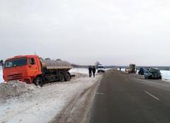 В Удмуртии в ДТП на федеральной трассе погибли два человека