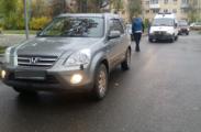 В Глазове водитель иномарки сбил двух первоклассниц