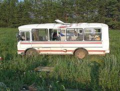 В Удмуртии в ДТП с участием автобуса пострадали 4 человека