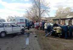 В Сарапуле в ДТП пострадали 5 человек, двое находятся в реанимации