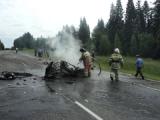 Три жителя Пермского края погибли в страшном ДТП в Удмуртии