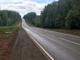 В Глазовском районе завершился ремонт участка дороги Глазов-Яр-Пудем
