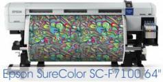 Epson представила новый сублимационный принтер Epson SC-F7100