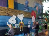 В Глазове на стене детской поликлиники появились фиксики