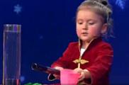 Трёхлетняя фокусница из Глазова приняла участие в шоу «Лучше всех!»