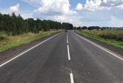 Закончен ремонт двух участков автодороги Глазов-Яр-Пудем