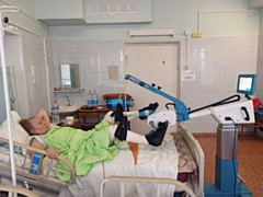 Новое медицинское оборудование для восстановительного лечения появилось в Глазове
