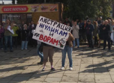 В Ижевске прошла акция против повышения пенсионного возраста
