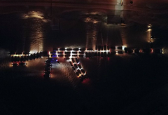 В Ижевске автомобилисты своими машинами изобразили автомат Калашникова