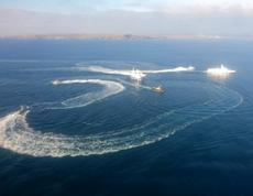 Задержаны три корабля ВМС Украины, нарушившие границу России