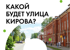 Глазовчане могут решить, какой будет обновленная улица Кирова