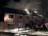 В Глазове произошел крупный пожар