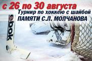 В Ижевске стартовал второй молодежный хоккейный турнир памяти Молчанова