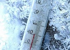 23 февраля местами по Удмуртии температура воздуха опустится до -39 градусов