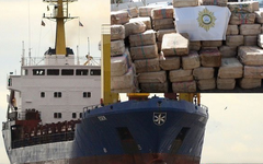 Российских моряков задержали с рекордной партией кокаина