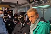 Навального задержали в аэропорту Шереметьево сразу после прилёта в Россию
