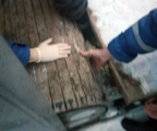 Спасатели вызволили застрявшую в «барабане» ногу девочки