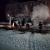 В Глазове на улице Революции сгорел автобус
