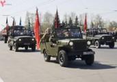 На репетициях парада Победы закроют улицы Пушкинская, Лихвинцева и Наговицына
