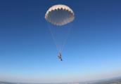 В Удмуртии насмерть разбился парашютист