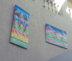 В «Пассаже» проходит выставка картин современного глазовского художника Пластилинера