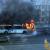 В Ижевске на улице сгорел рейсовый автобус