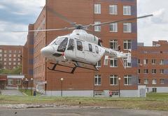 Санитарная авиация Удмуртии совершила в 2020 году более 60 вылетов в Глазов