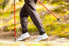 Житель Удмуртии установил рекорд по скандинавской ходьбе