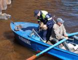 В Сарапуле спасли кота, оказавшегося в Каме