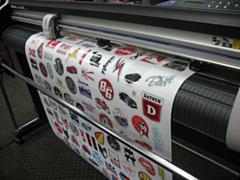 Печать и изготовление наклеек