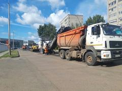 В Глазове приступили к ремонту улицы Сулимова