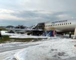 При аварийное посадке «Суперджета» в Шереметьево погибли 13 человек