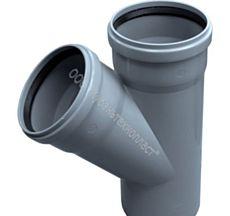 Элементы внутренней канализации