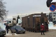 На центральной площади Ижевска начали устанавливать туалеты