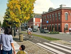 В Глазове планируют создать семь велодорожек