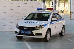 Два первых автомобиля LADA Vesta были переданы ГИБДД Удмуртии