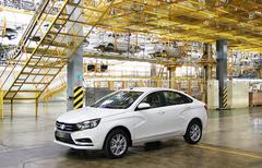 Летом LADA Vesta получит новый двигатель объемом 1,8 литра