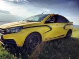 В сети появились первые фотографии Lada Vesta Sport