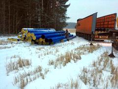В Глазове ведется строительство второй ветки Сянинского водозабора