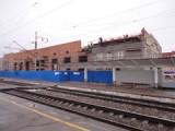 Продолжается реконструкция вокзала в Глазове
