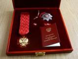 Глазовчанину вручили орден «За заслуги перед Отечеством» II степени