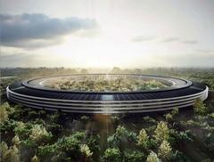 Строительство нового кампуса Apple сняли с помощью GoPro камеры