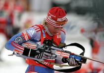 Российские биатлонистки впервые за 7 лет выиграли эстафетную гонку